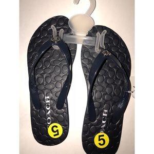 NEW COACH Abbigail Flip Flops